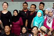 말레이시아 방송사 제작진 탐방